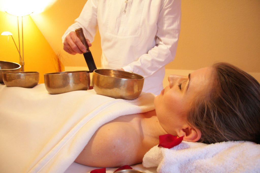 bol- tibétain - bien-être - massage - table