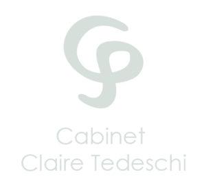 logo cabinet claire Tedeschi 300x277